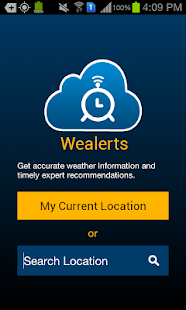 Sample Weather Alarm - screenshot