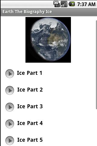 Earth The Biography - Ice