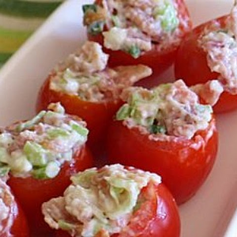 Bacon-Stuffed Cherry Tomatoes