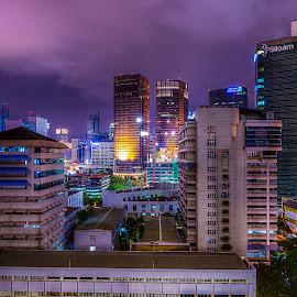 City of Lights by Peter Iman Paskal Mendrofa - City,  Street & Park  City Parks ( lights, hdr, jakarta city, nikon,  )