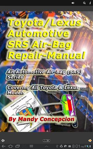 Toyota-Lexus SRS Airbag Manual