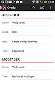 Screenshot of Spar Nord Mobilbank