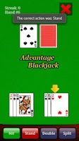 Screenshot of Advantage Blackjack