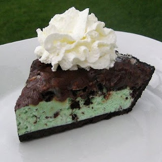 Make You Cry Mint Chocolate Ice Cream Pie