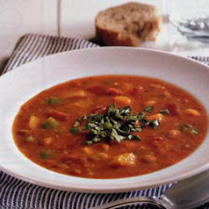 Pinto Bean, Tomato and Butternut Squash Soup