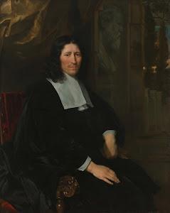RIJKS: Abraham van den Tempel: Portrait of Pieter de la Court 1667