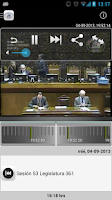 Screenshot of Senado