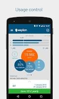 Screenshot of Weplan: Data and voice usage