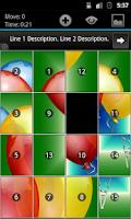 Screenshot of Geser Slide Puzzle