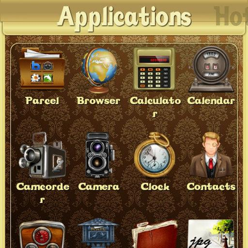 Vintage theme for ssLauncher