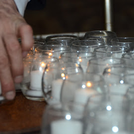 Tea Lights by Lorraine D.  Heaney - Wedding Details