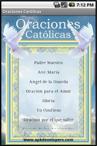 Oraciones Católicas PRO