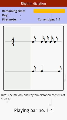 MusiLearner - ear training - screenshot
