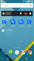 Screenshot of PinDroid