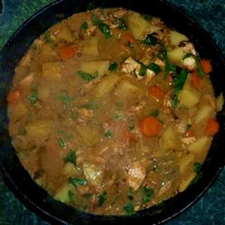 West African Chicken Stew