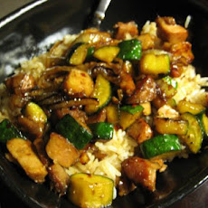 Stir- Fried Zucchini & Onions
