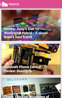 Screenshot of WPCentral — The app!