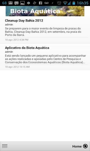 Biota Aquática
