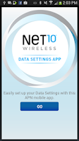 Screenshot of Net10 Data Settings