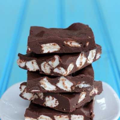 Easy Fudge Marshmallow Bars