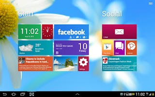 Screenshot of Metro Ui HD Widget Tile Win 8