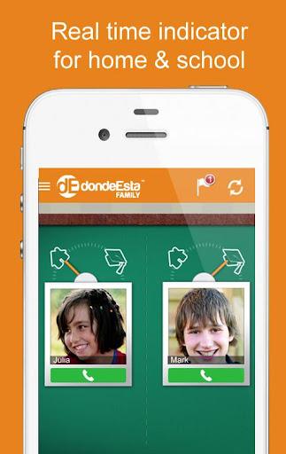 DondeEsta Family Locator - screenshot