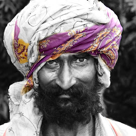 Turban by Mrinmoy Ghosh - People Portraits of Men (  )