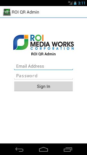 ROI QR Admin