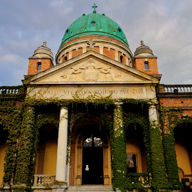 Mirogoj church by Gordana Trošić-Kliska - Buildings & Architecture Places of Worship ( church, buildings, historical, zagreb )