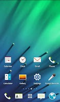 Screenshot of HTC Sense Theme ( icon pack )