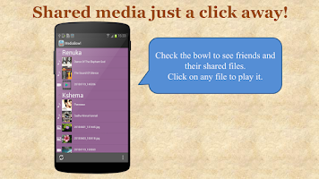 Screenshot of MediaBowl: FileShare