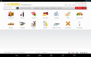 Screenshot of Alimerka