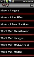 Screenshot of Weapon Museum