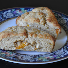 Madeira and Vanilla Scented Apricot Scones