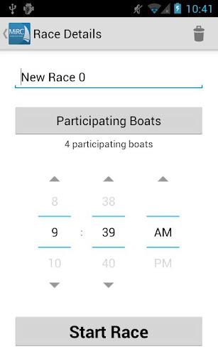 MiRC Sailing Handicap