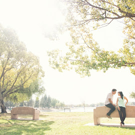 Love is the greatest gift that God has given us by Yansen Setiawan - Wedding Other ( park, creative, art, losangeles, illusion, cute, love, yansensetiawanphotography, fineart, prewedding, d800, wedding, lifestyle, la, photographer, yansensetiawan, nikon, yansen, engagement )