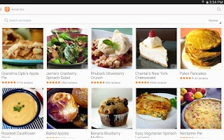 Screenshot of Allrecipes Dinner Spinner