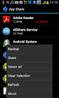 Screenshot of Apk Share