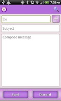 Screenshot of Purple Theme for Facebook