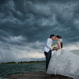 You're My Evething by Tim Chong - Wedding Bride & Groom