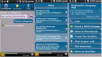 Screenshot of Local Guide