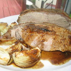 Roast Beef With a Mustard Crust and Traditional Gravy