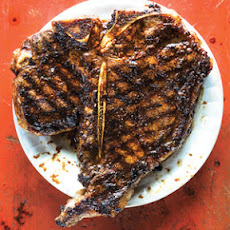 Garlic and Red-Miso Porterhouse