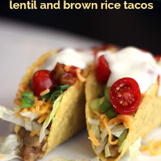 Slow Cooker Lentil and Brown Rice Tacos