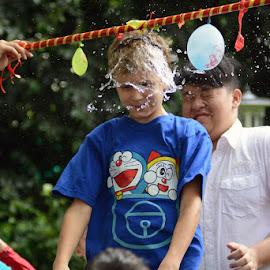 splash by Edi Sujana - People Group/Corporate ( games, happy, kids, people, water splash )