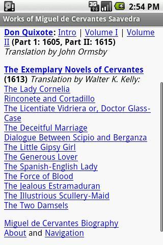 Don Quixote The Exemplary No