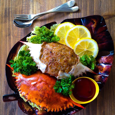 Stuffed Crabs or Tortang Alimasag
