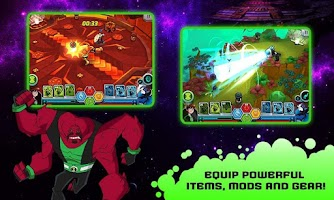 Screenshot of Wrath of Psychobos - Ben 10