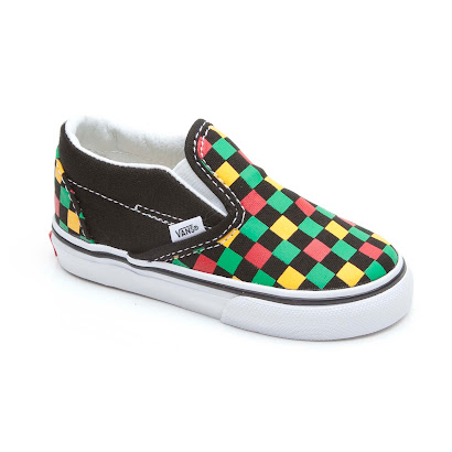 Vans Colourful Checker Slip On SLIP ON