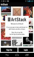 Screenshot of ArtStack